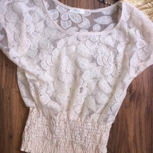 Poetry lace top